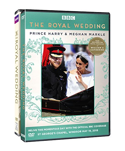 Royal Wedding Two Pack: Royal Wedding of Harry & Meghan and Royal Wedding of William & Catherine -