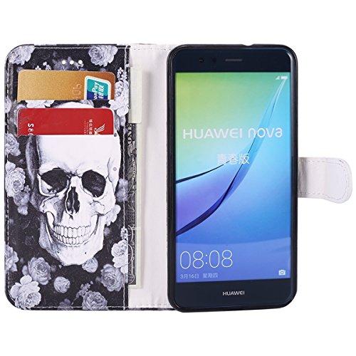 pour de Housse Cuir Magnetique Lite Cuir P10 pour etui Herbests avec en P10 Stand Huawei Etui Portefeuille Pochette Fonction Protection Huawei Lite Coque Huawei Coque de de téléphone Fantôme Housse Lite Tête P10 en R f7xwq1Hq