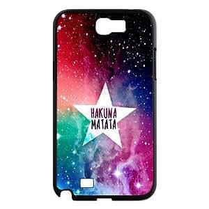 Hakuna Matata Hard Plastic Back Cover Case For Samsung Galaxy Note 2 Case TPUKO-Q780943