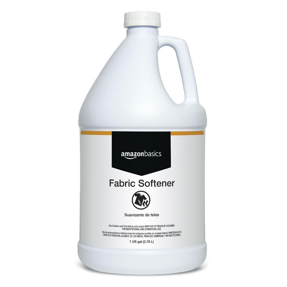 AmazonBasics Professional Laundry Fabric Softener, 1 Gallon, 4-Pack