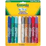 Crayola 9 Colour Washable Glitter Glue