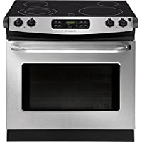 Frigidaire FFED3025PS 30 Stainless Steel Electric Drop-In Smoothtop Range