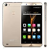 cheap boost mobile phones - Xgody X15s 5.0 Inch 3G Unlocked Cell Phone 8GB+1GB Quad Core Android 5.1 qHD Screen Dual SIM with Wi-Fi Bluetooth for T-Mobile Telefonos Desbloqueados Gold