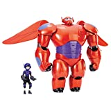 Big Hero 6 11-Inch Deluxe Flying Baymax Action Figure with 4.5-Inch Hiro Action Figure