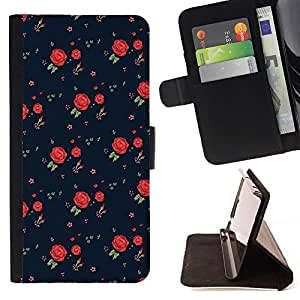 Momo Phone Case / Flip Funda de Cuero Case Cover - Robe rétro Motif Mode - Samsung Galaxy S4 Mini i9190