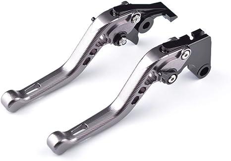 Tencasi Titanio CNC 3D Lungo Regolabile Freni e Frizione Leve per Honda CBF1000 2006 2007 2008 2009