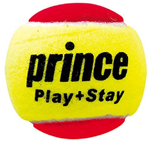 Prince Ball Tennis (Prince Global Sports Play and Stay Stage 3 Felt Tennis Ball (Pack of 12))