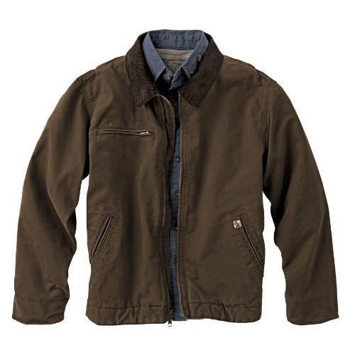 DRI DUCK 5087 - Outlaw Boulder Cloth™ Jacket with Corduroy (Outlaw Boulder Cloth Jacket)