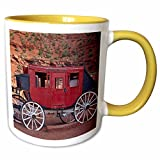 Navajo Nation, Monument Valley, stage coach at Gouldings Trading Post Mug is available in both 11 oz and 15 oz. Why drink out of an ordinary mug when a custom printed mug is so much cooler? This ceramic mug is lead free, microwave safe and FD...