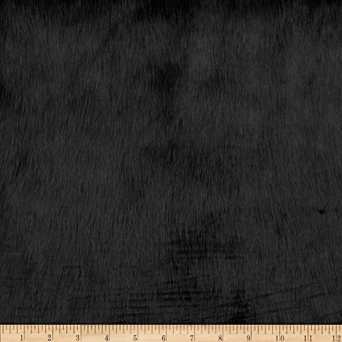 - Shannon Fabrics Solid Mink Faux Fur Fabric by The Yard, Black