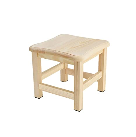 Stupendous Amazon Com Zcyx Solid Wood Stool Small Bench For Home Andrewgaddart Wooden Chair Designs For Living Room Andrewgaddartcom