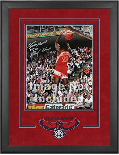 Atlanta Hawks Deluxe 16'' x 20'' Frame - Fanatics Authentic Certified - NBA Other Display Cases by Sports Memorabilia