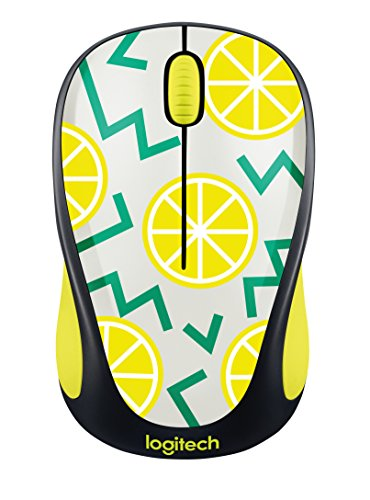 (Logitech Wireless Mouse M317 - Lemon)