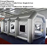 INTBUYING Inflatable Spray Paint Booth Tent Ventilation Design Portable for Car with Filters