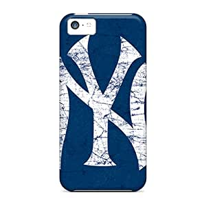 Iphone 5c RaA10309WfUx Special Colorful Design New York Yankees Series High Quality Cell-phone Hard Cover -JonBradica