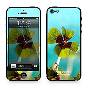 "Da Code ? Skin for iPhone 5/5S: ""Clover Leaves"" (Plants Series)"