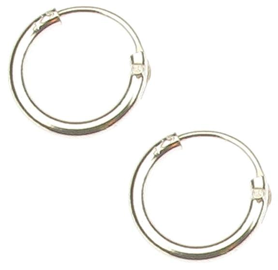 27 opinioni per Touch Jewellery- Orecchini a cerchio Plain Micro, 8 mm; piccoli