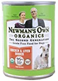 Newman's Own Organics Grain Free Dog Food Chicken & Liver -- 12.7 oz[ Pack of 2]