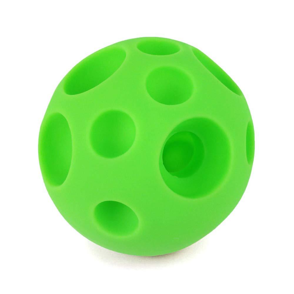 per ridurre la noia Masticare//Giocare Palline Giocattolo per Cani per la Pulizia dei Denti degli Animali Domestici in Gomma atossica NWHEBET