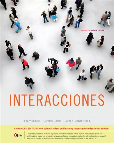 Interacciones, Enhanced (World Languages) by Heinle