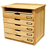 File cabinets LITING Wooden Desk A4 File Stationery Storage Box Multi-Layer Classification Drawer Solid Wood