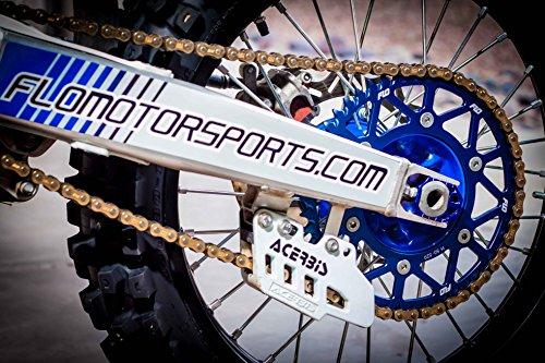 Flo Motorsports Blue KTM 50-525 SX/SXF Foot Pegs FPEG-795BLU by Flo Motorsports (Image #5)