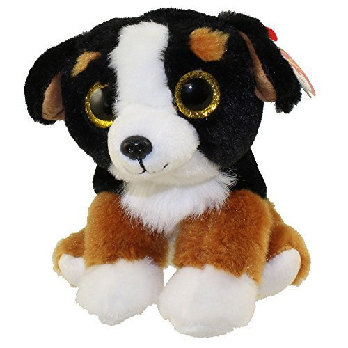 (TY Beanie Baby - ROSCOE the Bernese Mountain Dog (6 inch) - Stuffed Animal)