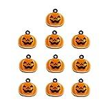 Stock Show 10Pcs/Pack Pumpkin Bells Pet Collar
