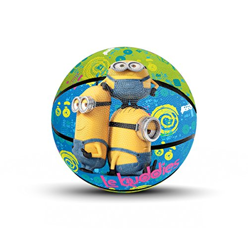 Hedstrom Minions Jr. Rubber Basketball, 7 Inch]()