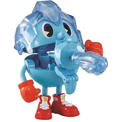 "Pac-Man Ghost Grabbin 4"" Action Figure, Ice Pac by Pac-Man"