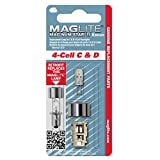 Maglite Replacement Lamp for 4-Cell C & D
