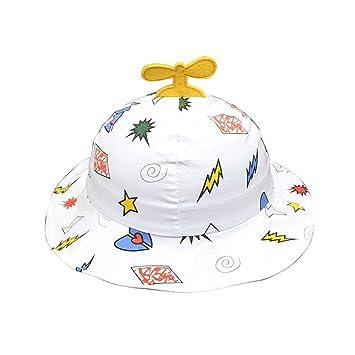 b6865dc4 Potelin Toddlers Baby Cartoon Sun Hat Classic Helicopter Hat Cap Newborn  Propeller Hat Summer Beach Bonnet