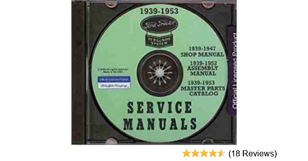Business & Industrial Ford 2N and 9N Tractor Owners Manual 1939 ...