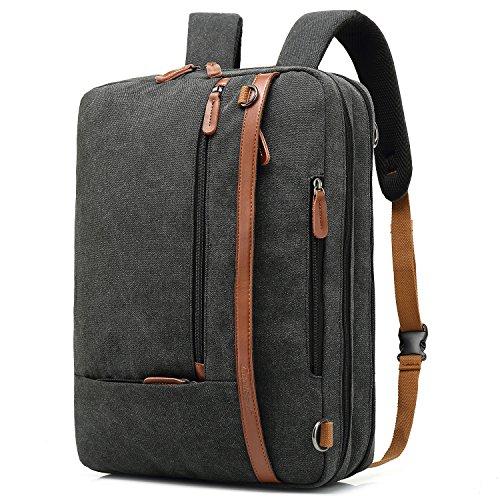 Shop online CoolBELL Convertible Backpack Shoulder bag Messenger Bag Laptop Case Business Briefcase Leisure Handbag Multi-functional Travel