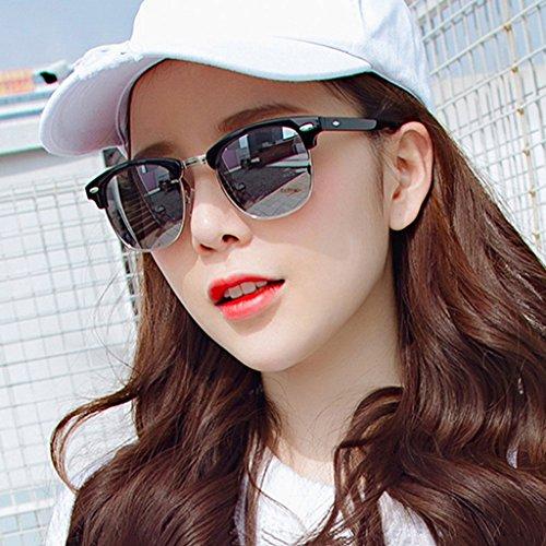 DT Gafas Color de Delgadas de Gafas Femeninas Sol Sol 5 polarizadas Gafas Coreanas rrqdwfnPx