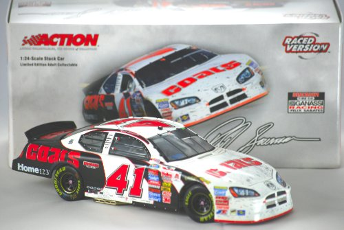 2005 - Action - NASCAR - Reed Sorenson #41 - Discount Tire / Nashville Raced Win Version - Dodge Charger - 1 of 3,036 - 1:24 Scale - Die Cast - OOP - Limited Edition - New