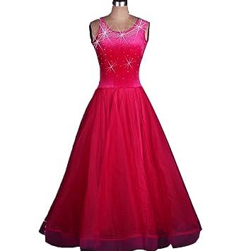 Vestidos de Baile de Salón para Mujeres Trajes de Flamenca ...