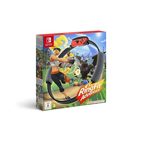 Ring Fit Adventure – Nintendo Switch [Importación italiana]