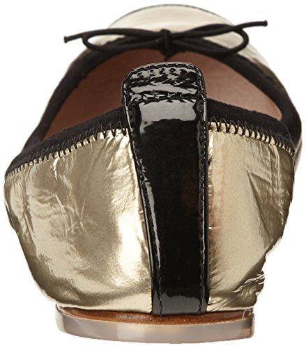Bloch Luxury Damen Ballerinas Gold (Or (Metallic Platino/Black))