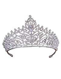 Wedding Bridal Beauty Pageant Tiara Hair Crown Crystal Rhinestone Headband Bridal Prom
