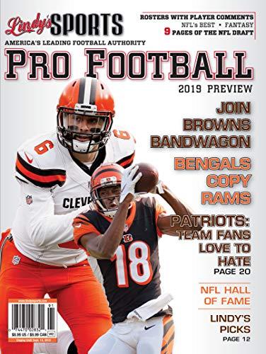 (Lindy's 2019 Pro Football Preview - Cleveland Browns / Cincinnati Bengals)
