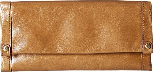 Leather Fable Wallet Clutch (Mink) ()
