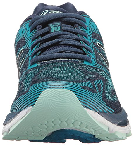 Sea Insignia Blue Glacier Gel Black Nimbus Women's Shoe One Running Asics Crystal Size 19 Blue H7q56z