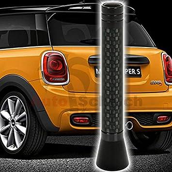 AutoScheich® Universal 8 cm Antena Antena de varilla corta para ...