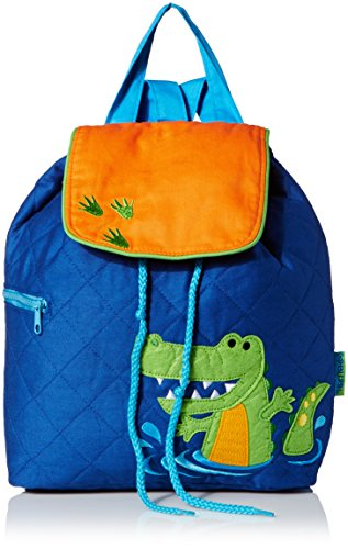 Stephen Joseph Quilted Backpack, Alligator