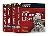 img - for Office 2007 Library: Excel 2007 Bible, Access 2007 Bible, PowerPoint 2007 Bible, Word 2007 Bible book / textbook / text book