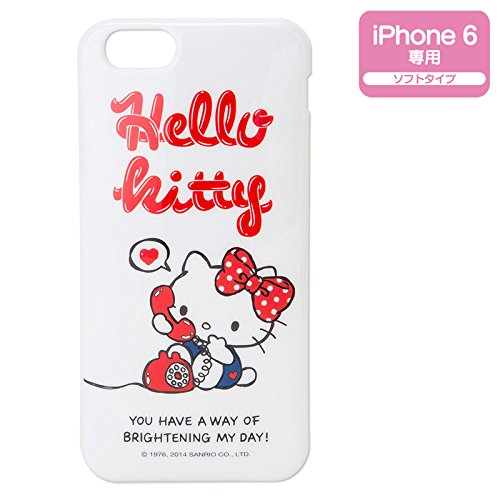 [Hello Kitty] iPhone6 cover iPhone case 6 - Tel Iphone 6
