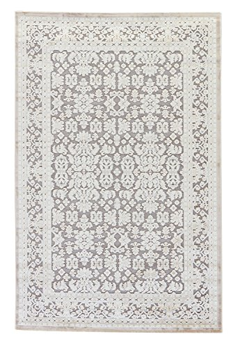 Jaipur Living Regal Oriental Gray/Silver Area Rug (9' X 12') from Jaipur Living