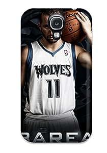 LeeJUngHyun Perfect Tpu Case For Galaxy S4/ Anti-scratch Protector Case (minnesota Timberwolves Nba Basketball (17) )