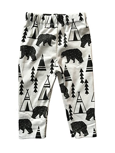 Organic Cotton Bears + Teepee Pants by Soren + Luca